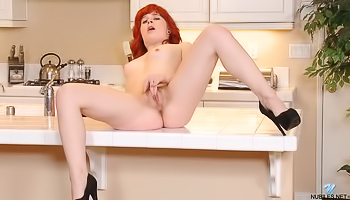 One Cute Redhead